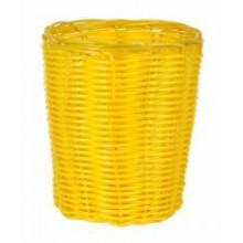 Krepšelis pintas geltonas 12*15cm B922070
